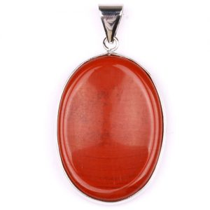 Red Jasper Worry Stone Pendant for sale click here