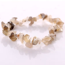 Grey Agate chip Bracelet for sale click here for more info