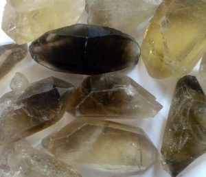 Smoky Quartz Dble Point for sale click here for more info