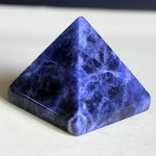 Sodalite Pyramid for sale click here for more info