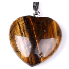 Tigers Eye Heart Pendant for sale click here for more info