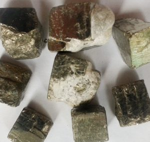 Pyrite Cubes Small for sale click here for more info