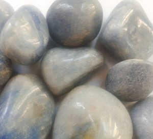 Blue Quartz Tumbled Stones for sale click here for more info