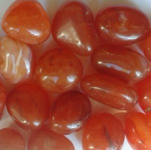 Carnelian Tumbled Stones for sale click here for more info