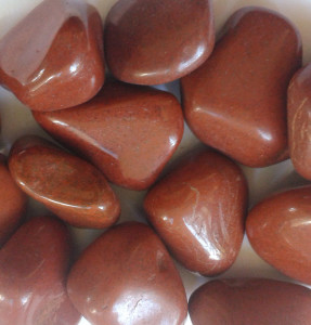 Red Jasper Tumbled Stones for sale click here for more info