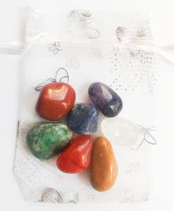 Chakra Gem Stone Pouch for sale click here for more info