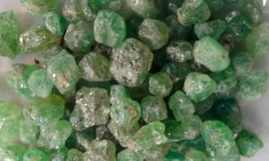 Tsavorite rough for sale click here for more info
