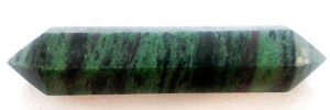 Ruby and Epidote Double Terminated Wand for sale click here for more info