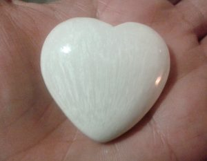 Scolecite Heart for sale click here for more info