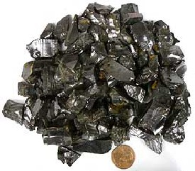 Noble Shungite, Crystal Shungite or Silver Shungite Large for sale click here for more info